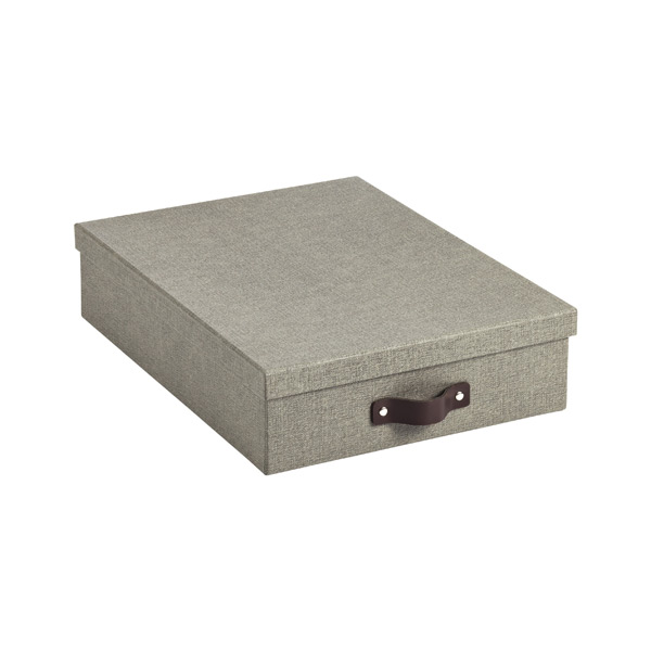 Grey Bigso Marten Office Storage Boxes · u0026 · Bigso Marten Letter Box Grey ...  sc 1 st  The Container Store & Bigso Marten Grey Office Storage Boxes | The Container Store