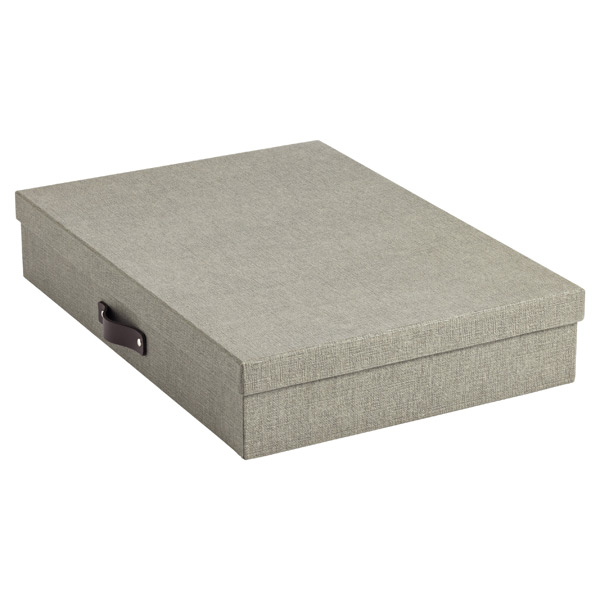 Bigso™ Marten Document Box Grey