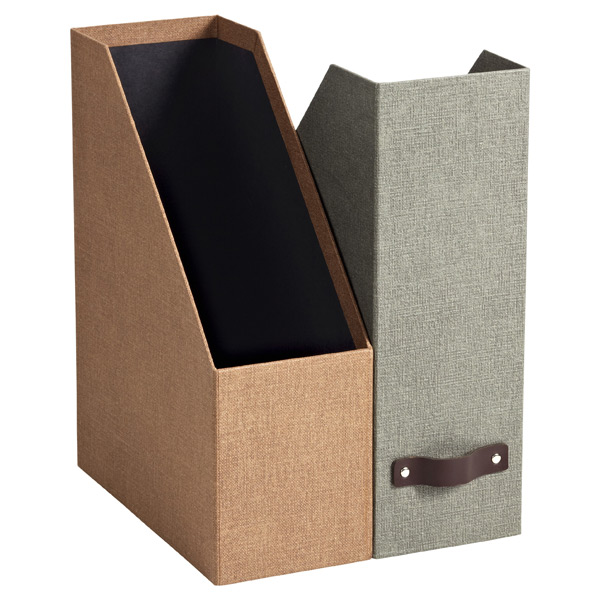 desktop organizers pen holders magazine holders the container store. Black Bedroom Furniture Sets. Home Design Ideas