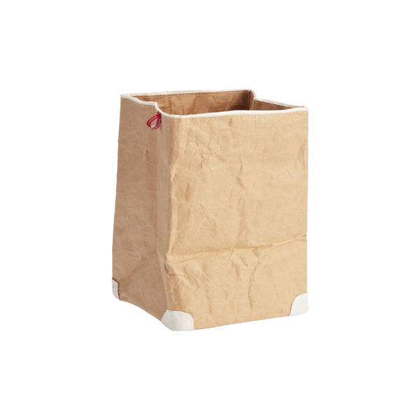 Medium Paper Bin Natural/White