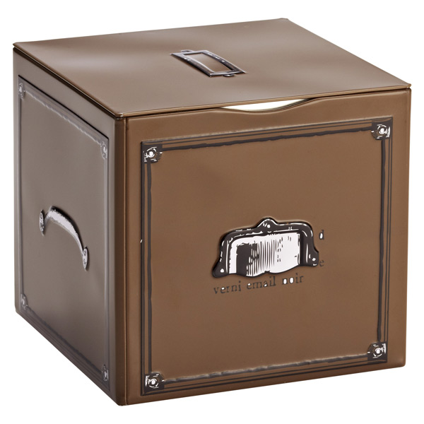 Metal Box Brown