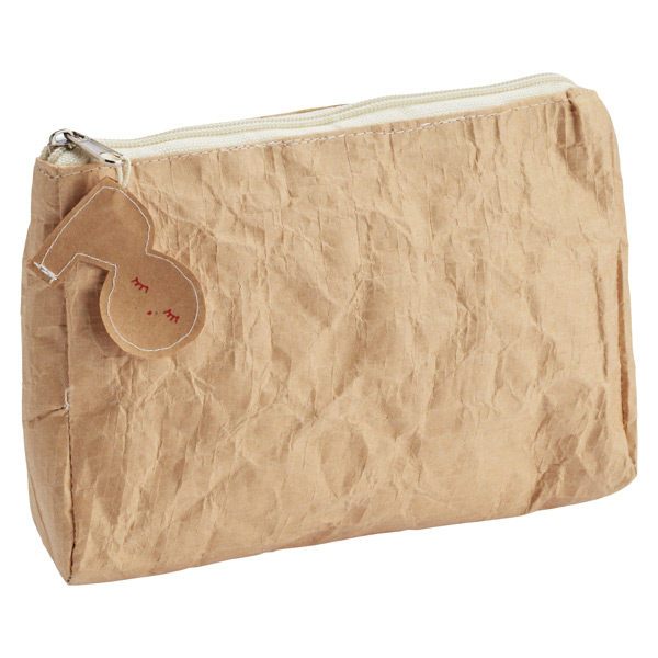Paper Zippered Pouch