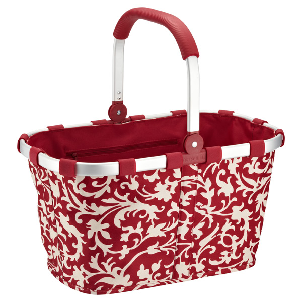 reisenthel® Soft-Sided Market Tote Baroque Ruby