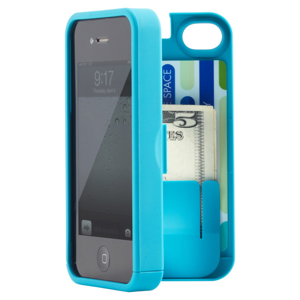 iPhone®4S Pocket Case & Mirror Turquoise
