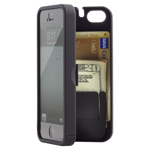 iPhone®5 Pocket Case & Mirror Black