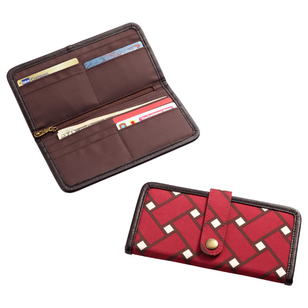 Gramercy Day Wallet Red