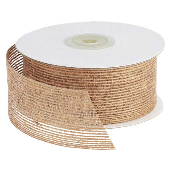 Ribbon Jute Natural
