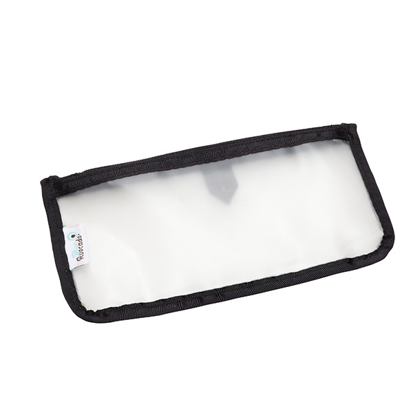 Small Travel Zippered Pouch Black