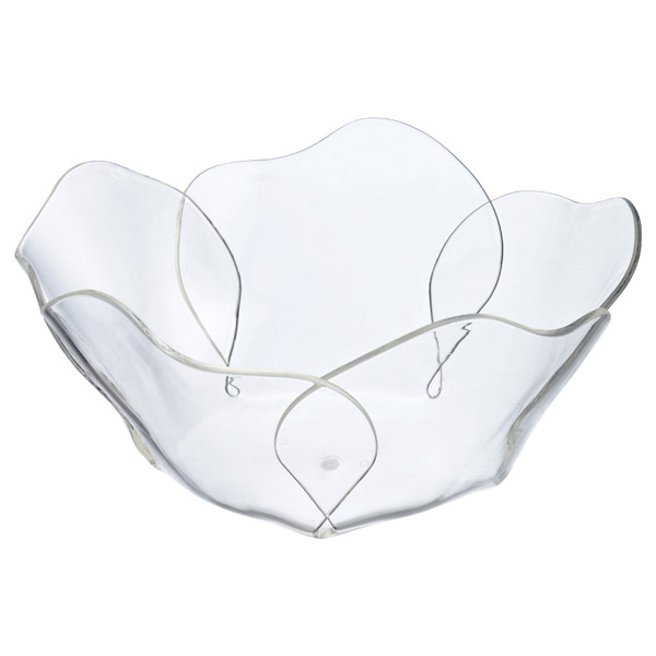 Large Lotus Acrylic Bowl