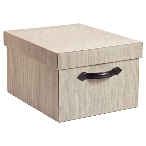 Parker Storage Box Latte