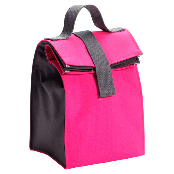 Lunch Sack Pink/Grey
