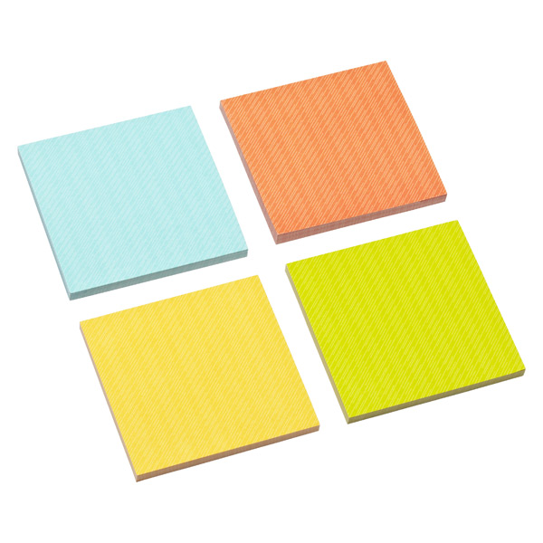 3M Post-it® Printed Notes Assorted Pkg/4
