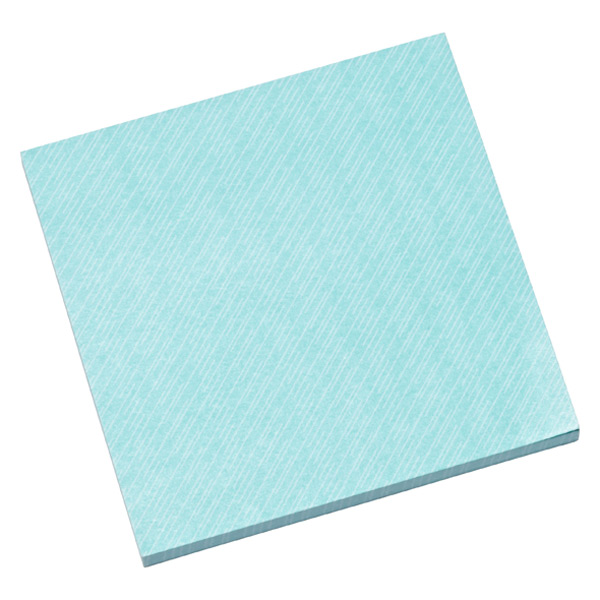 3M Post-it® Printed Notes Aqua Wave Pkg/2