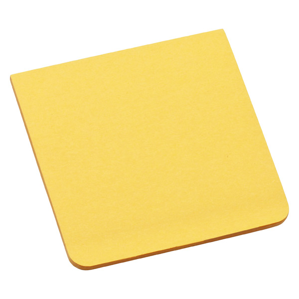 3M Post-it® Full-Adhesive Notes Sunflower Pkg/2