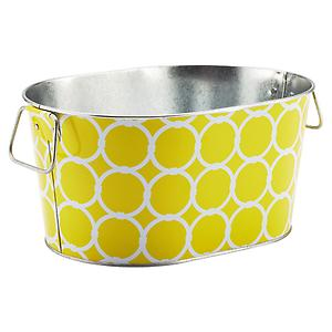 Jackie Party Tub Lemon