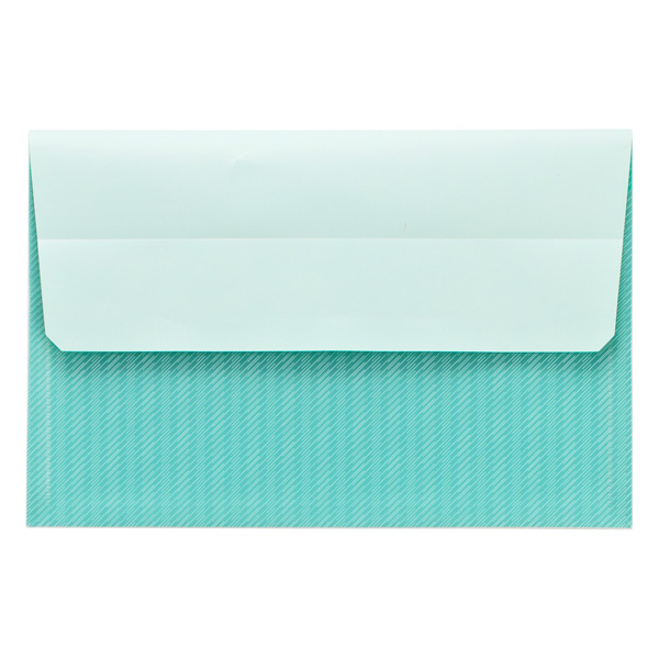 Post-it® Small Pocket Aqua Wave