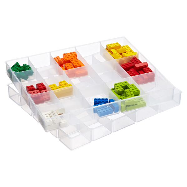 LEGO® Sorting Trays Clear Pkg/2