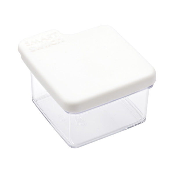 Small Tab Box White