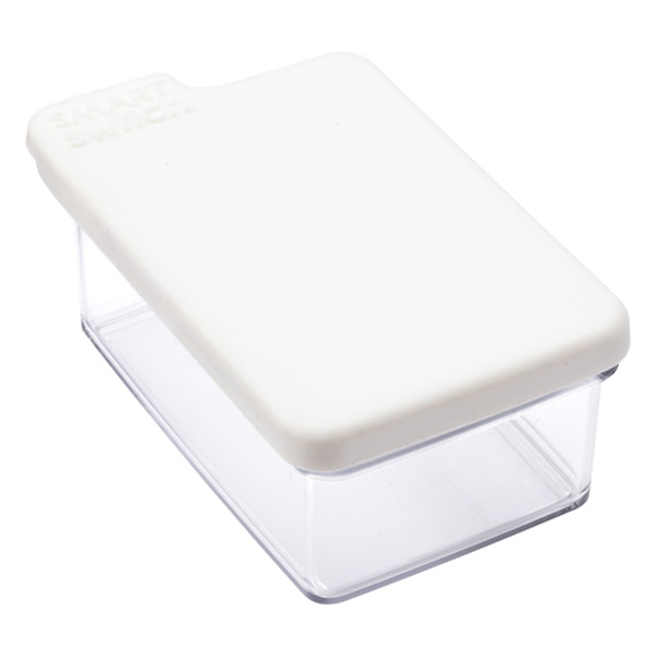 Large Tab Box White