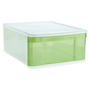 Large Tint Stacking Drawer Green
