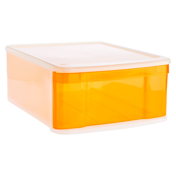 Large Tint Stacking Drawer Orange
