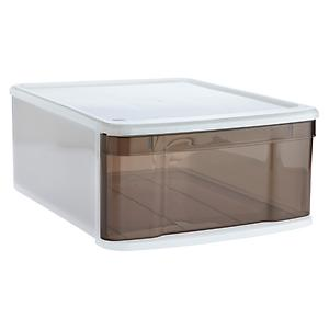 Large Tint Stacking Drawer Smoke