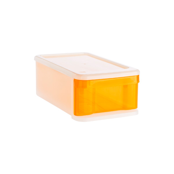 Small Tint Stacking Drawer Orange