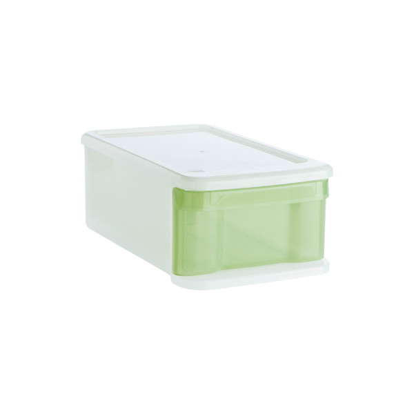 Small Tint Stacking Drawer Green