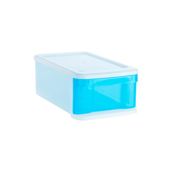 Small Tint Stacking Drawer Blue