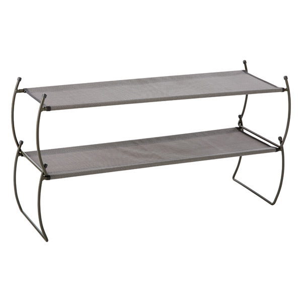 Umbra® Carrie Stacking Shoe Shelf Platinum Pkg/2