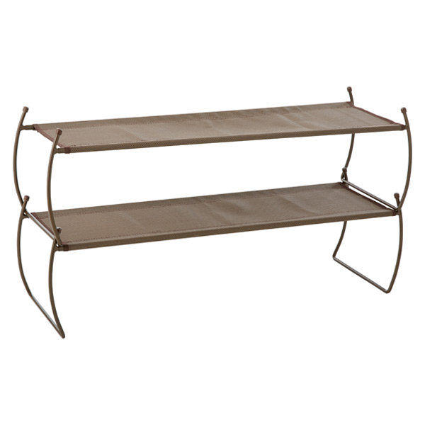 Umbra Carrie Stacking Shoe Shelf Bronze Pkg/2