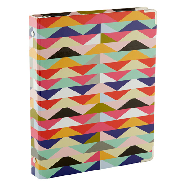 Mini Three-Ring Binder Zoey