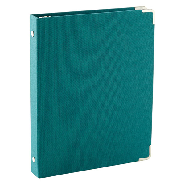 Mini Three-Ring Binder Peacock