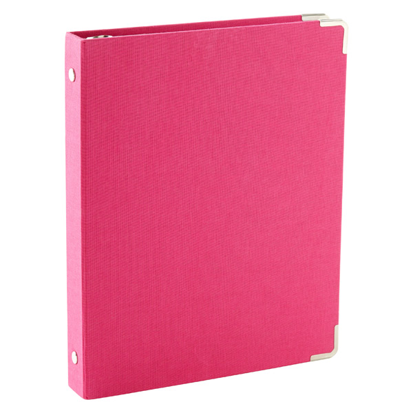 Mini Three-Ring Binder Pink