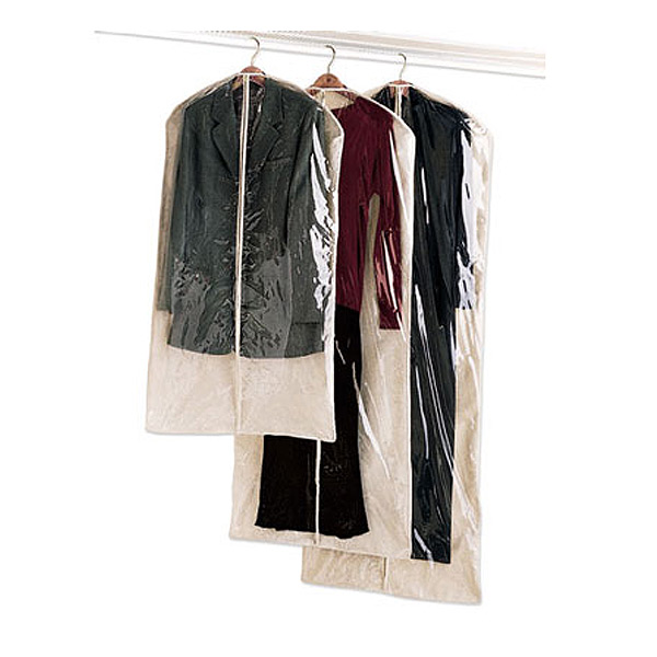 Natural Cotton Single Garment Bags The Container Store