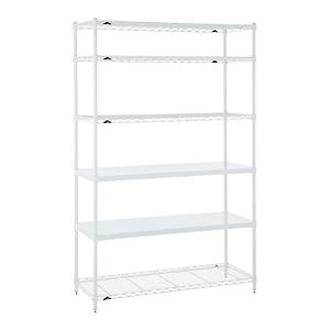 Office Shelves White
