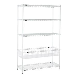 Kids' Shelving White