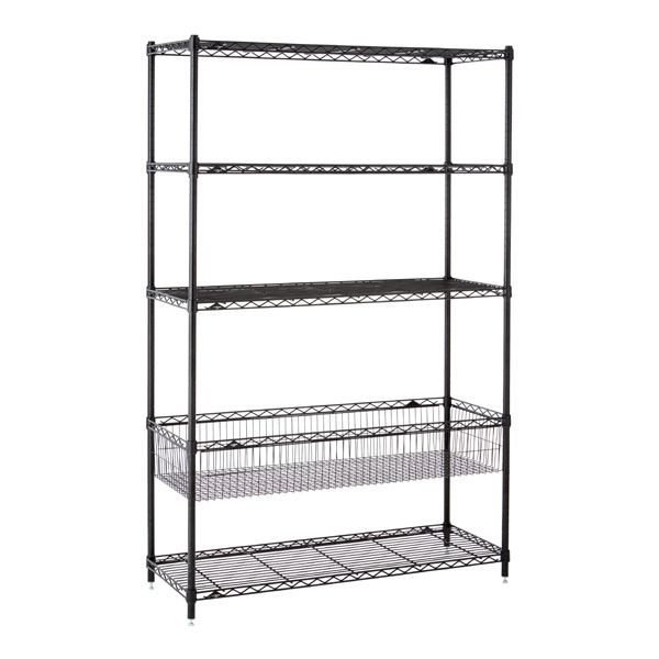 Kids' Shelving Black
