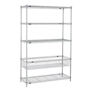 Kids' Shelving Silver