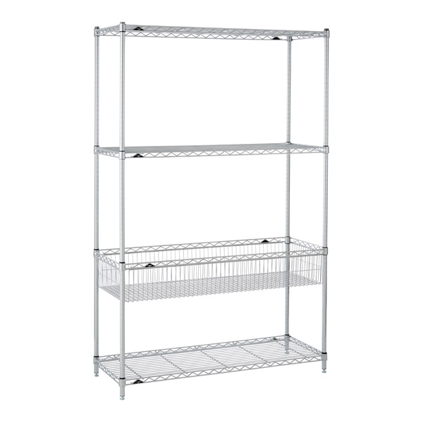 Basket Shelf Solution Silver