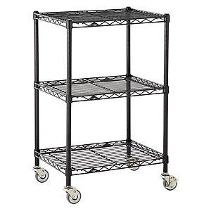 Serving Cart Black