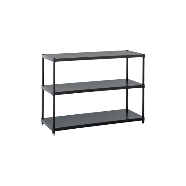Solid Shelving Black