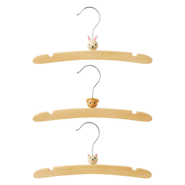 Infant Animal Hanger Pet Pkg/3