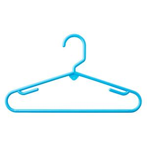 Children's Tubular Hanger Blue Pkg/5