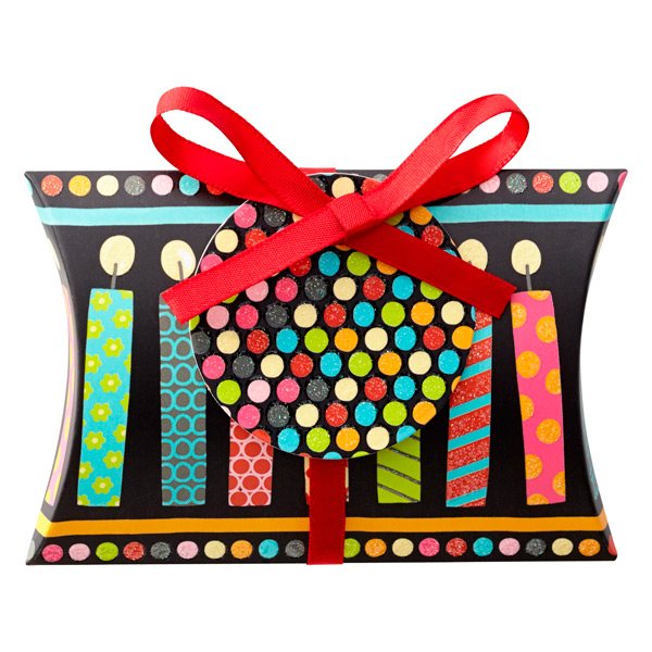 Gift Card Pouch Candle Conga