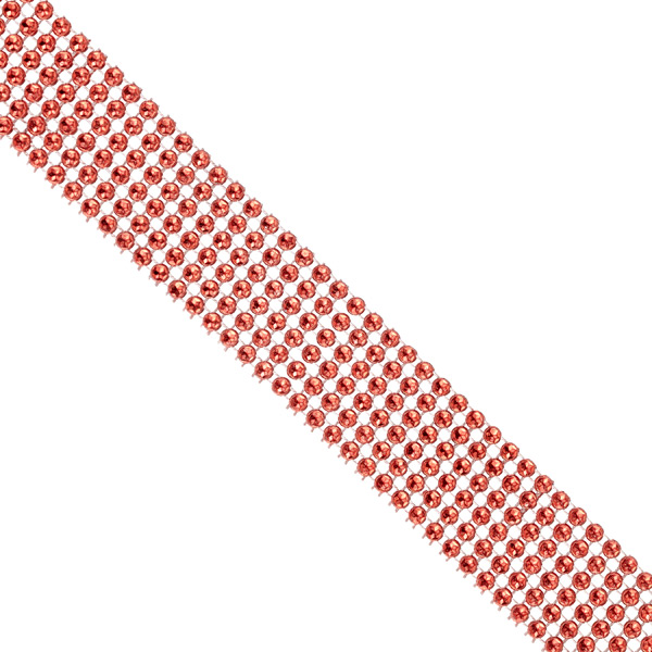 Wide Diamond Wrap Red