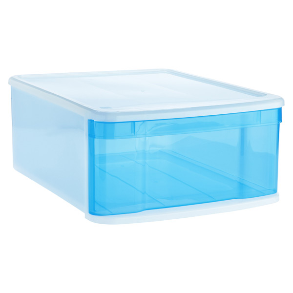 Large Tint Stacking Drawer Blue