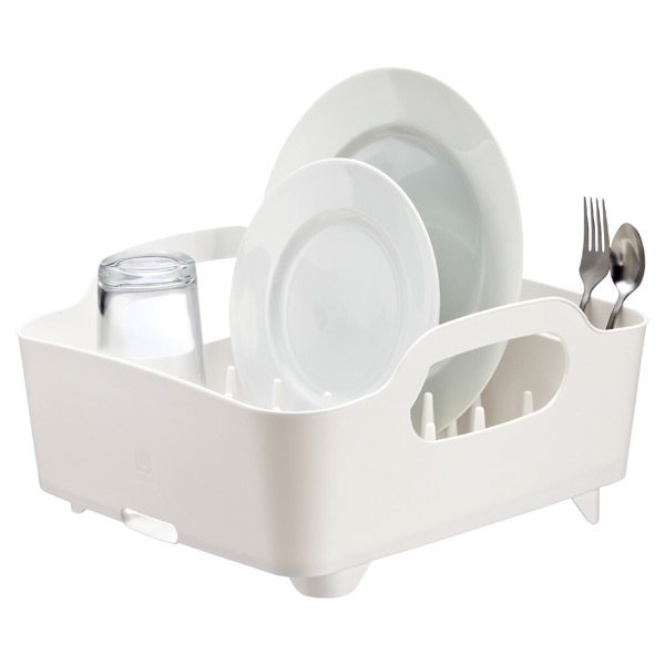 Umbra® Tub Dish Rack White