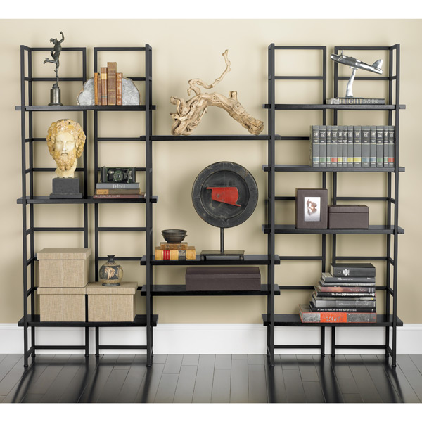library shelving java connections library shelving the container store. Black Bedroom Furniture Sets. Home Design Ideas