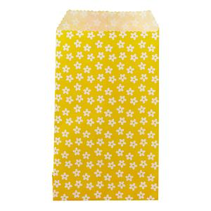 Flowers Treat Sacks Yellow Pkg/25